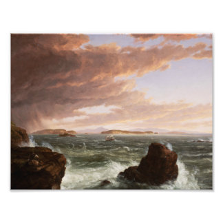 Thomas Cole - Views Across Frenchman's Bay Photo
