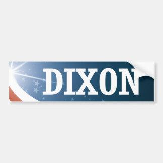 Thomas Dixon 2016 Bumper Sticker