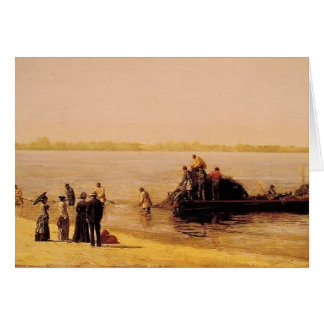 Thomas Eakins- Shad Fishing at Gloucester Card