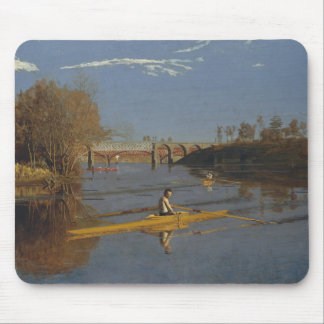 Thomas Eakins - The Champion Single Sculls Mouse Pad
