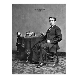 Thomas Edison Postcard