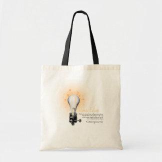 Thomas Edison Quote Budget Tote Bag