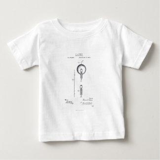 Thomas Edison's Light Bulb Patent Application 1880 Shirt