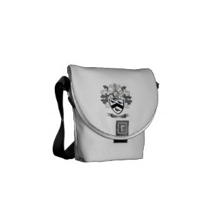 Thomas Family Crest Courier Bag