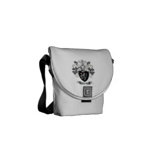 Thomas Family Crest Courier Bags