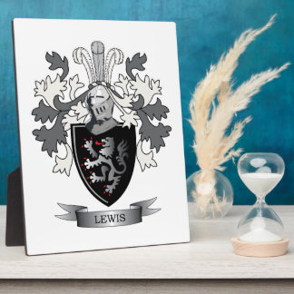 Thomas Family Crest Display Plaques