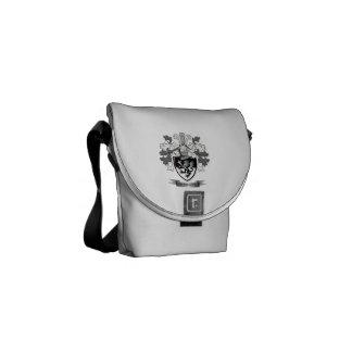 Thomas Family Crest Messenger Bags