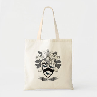 Thomas Family Crest Tote Bag