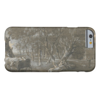 Thomas Gainsborough - A Moonlit Landscape Barely There iPhone 6 Case