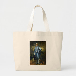Thomas Gainsborough Art Painting: The Blue Boy Large Tote Bag