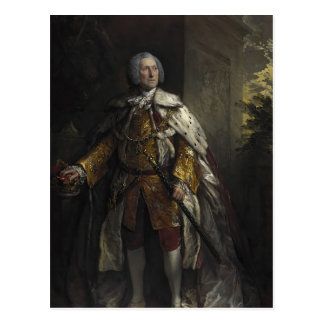 Thomas Gainsborough:John Campbell,Duke of Argyll Postcard