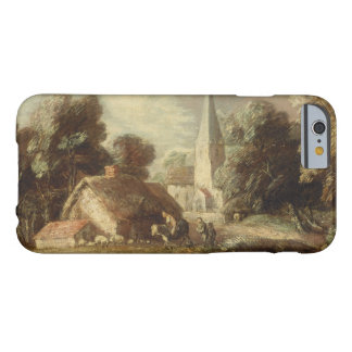Thomas Gainsborough - Landscape with Cottage Barely There iPhone 6 Case