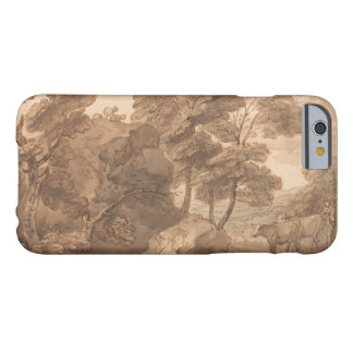 Thomas Gainsborough - Landscape with Cows Barely There iPhone 6 Case