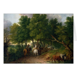 Thomas Gainsborough - Road from Market Card