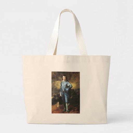 Thomas Gainsborough The Blue Boy Canvas Bag