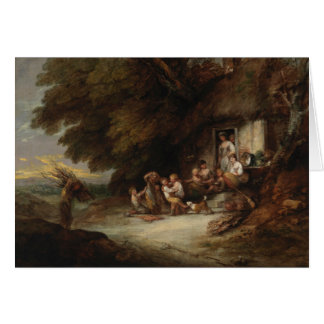 Thomas Gainsborough - The Cottage Door Card