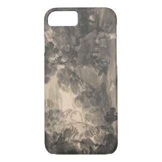 Thomas Gainsborough - Wooded Landscape with Figure iPhone 7 Case