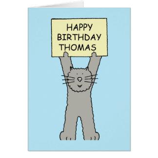 Thomas Happy Birthday Card