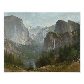 Thomas Hill - Indians at Campfire, Yosemite Valley Photo Art