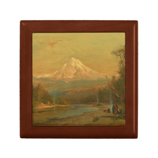 Thomas Hill - Indians of the Northwest Small Square Gift Box