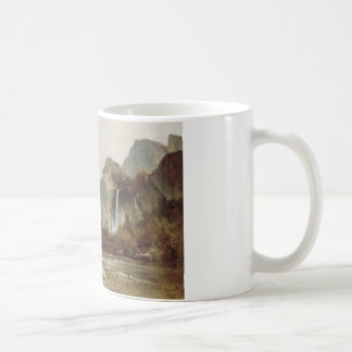 Thomas Hill - Yosemite, Bridal Veil Falls Coffee Mug