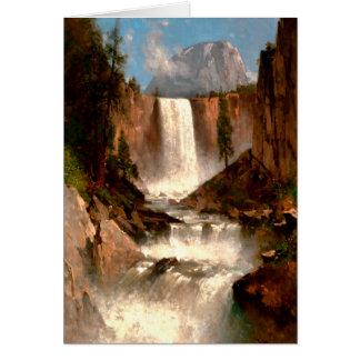 Thomas Hill's Vernal Falls, Yosemite Card