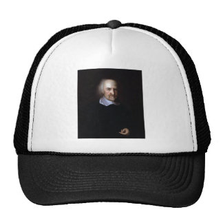 Thomas Hobbes by John Michael Wright Trucker Hats