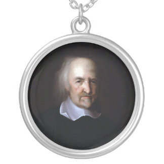 Thomas Hobbes by John Michael Wright Necklace