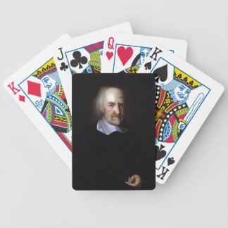 Thomas Hobbes by John Michael Wright Bicycle Poker Deck