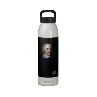 Thomas Hobbes by John Michael Wright Reusable Water Bottle