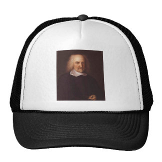 Thomas Hobbes of Malmesbury by John Michael Wright Hats