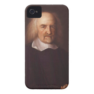 Thomas Hobbes of Malmesbury by John Michael Wright iPhone 4 Cases