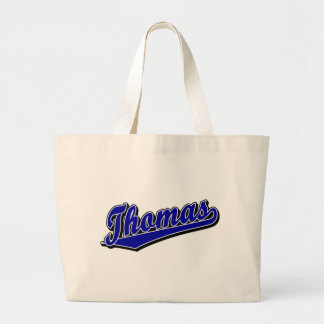 Thomas in Blue Tote Bags