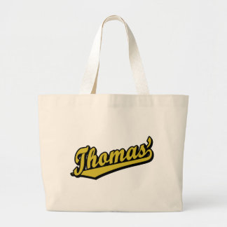 Thomas' in Gold Tote Bag