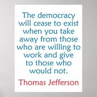 Thomas Jefferson #2 Poster