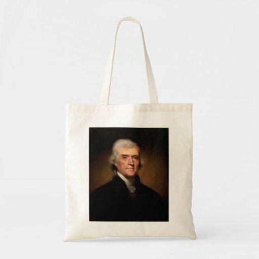 Thomas Jefferson Tote Bags