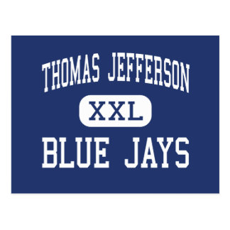Thomas Jefferson Blue Jays Middle Eugene Postcard