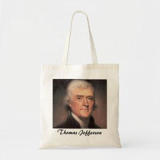 Thomas Jefferson Budget Tote Bag