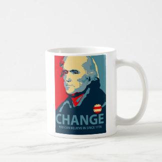 Thomas Jefferson Change Coffee Mug