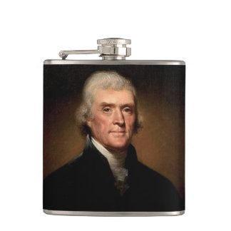 Thomas Jefferson Hip Flask