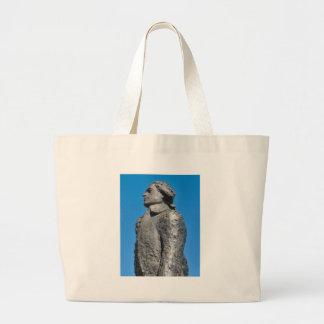Thomas Jefferson Jumbo Tote Bag