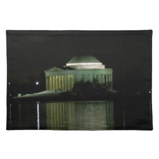 Thomas Jefferson Memorial at Night Placemat