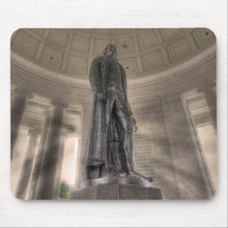 Thomas Jefferson Memorial Bronze Statue Mouse Pad