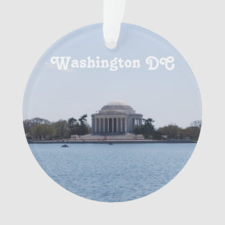 Thomas Jefferson Memorial Ornament