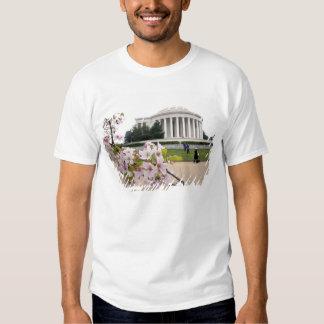 Thomas Jefferson Memorial with cherry blossoms Shirt