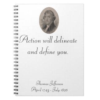 Thomas Jefferson notebook
