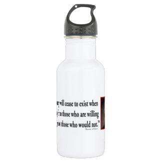 Thomas Jefferson On Democracy 532 Ml Water Bottle