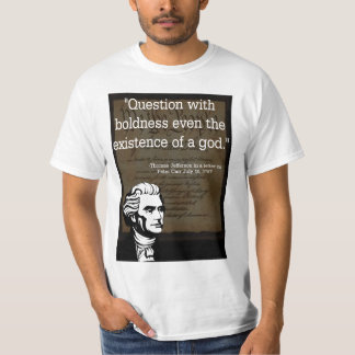 Thomas Jefferson On Religion In Government T-Shirt