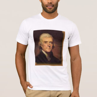 Thomas Jefferson, Our friendships ... - Customized T-Shirt