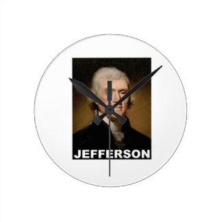 Thomas Jefferson picture Wall Clocks